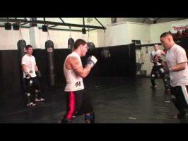 Exercices contre coup de pieds médians – middle kicks (partie 3)