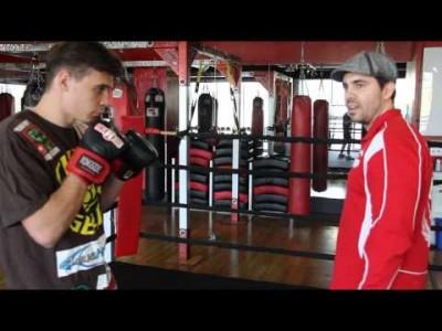 Exercice de boxe pour MMA