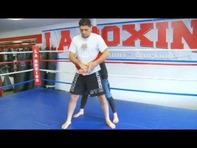 Nick Diaz montre sa technique favorite
