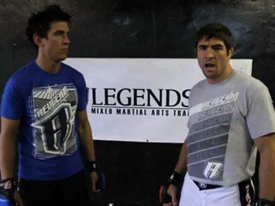 Low single leg takedown pour MMA