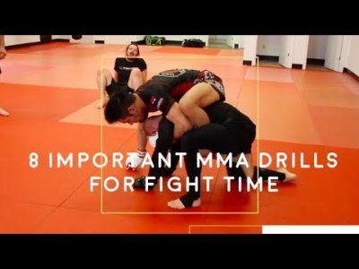 8 exercices pour MMA