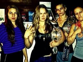 Les femmes du MMA : les Four Horsewomen