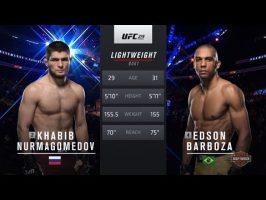 Khabib Nurmagomedov vs Edson Barboza